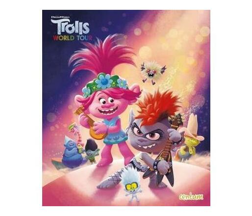 Trolls 2 Illustrated Picture Book