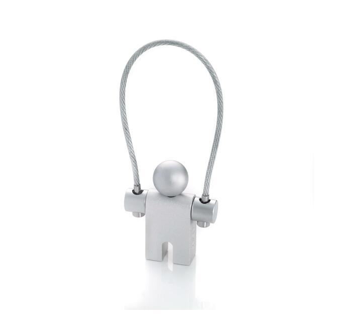 Troika Key-ring Jumper Matt Aluminium