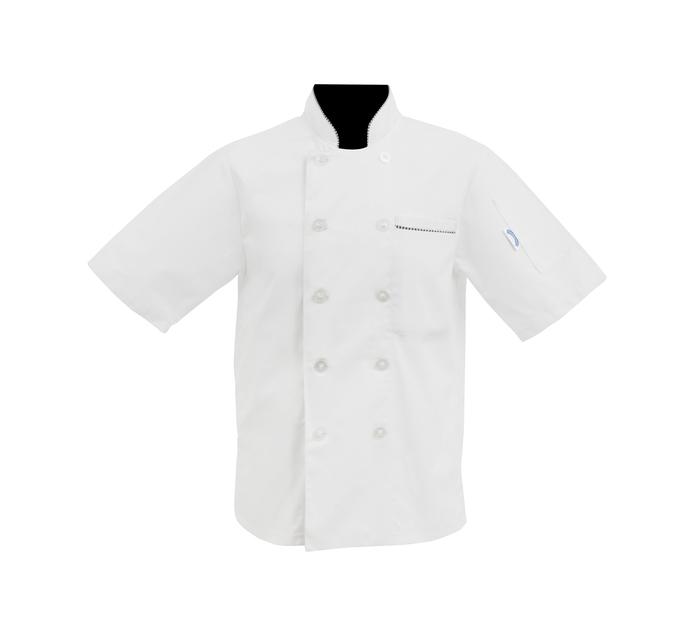 Bakers & Chefs Extra Large Short Sleeve Chef Jacket White