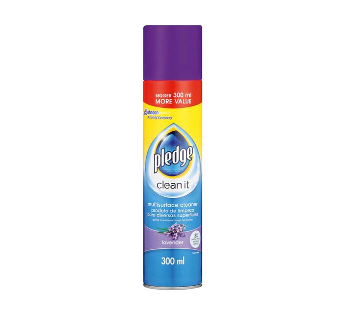 Pledge Multi Surface Cleaner Lavender (1 x 300ml)