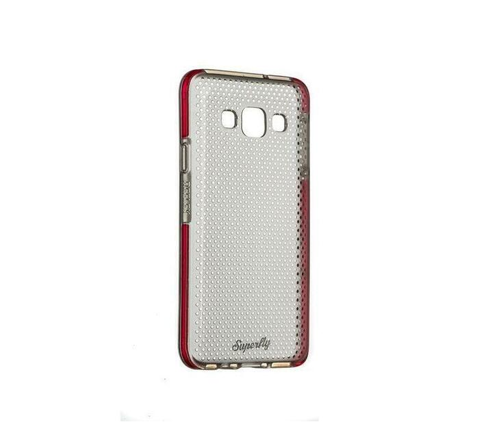 Superfly Soft Jacket Reflex Samsung Galaxy A3 Cover (Pink/Clear)