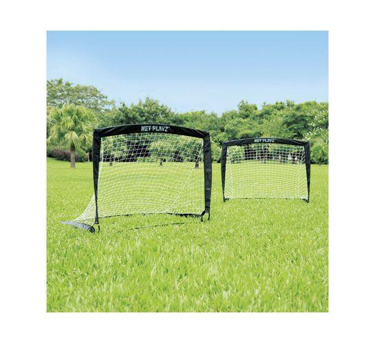 Net Playz Small Easy Set-Up Fiberglass Goal