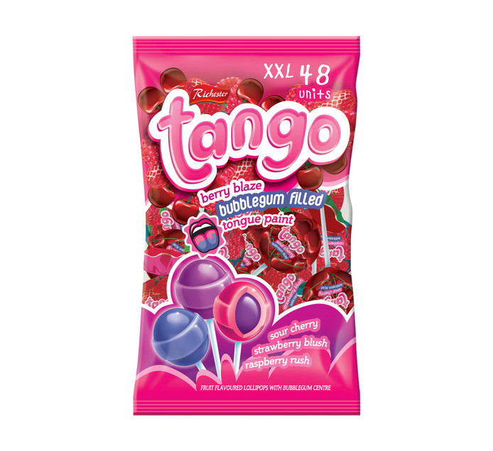 RICHESTER FOODS Tango Pops Berry Blaze (1 x 48's)