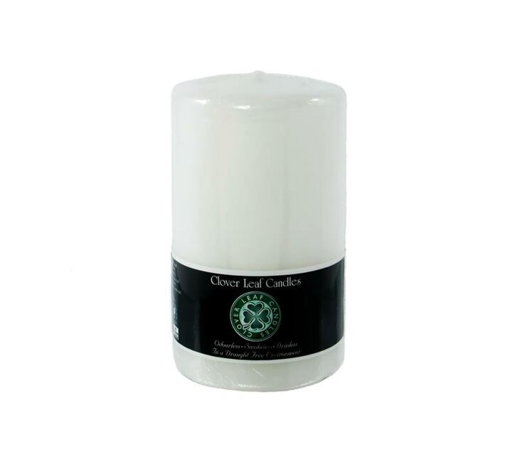 10x13cm Pillar Candle White