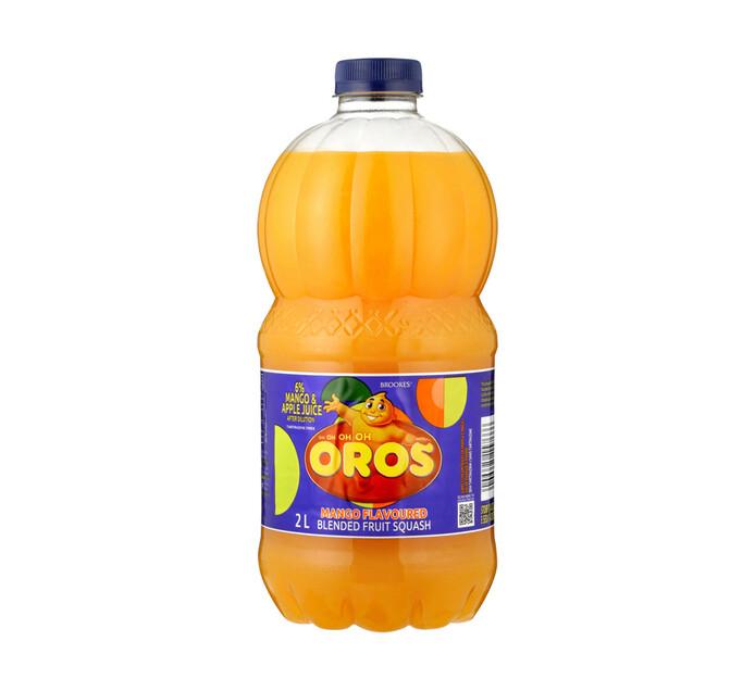 Brookes Oros Squash Mango (1 x 2l)