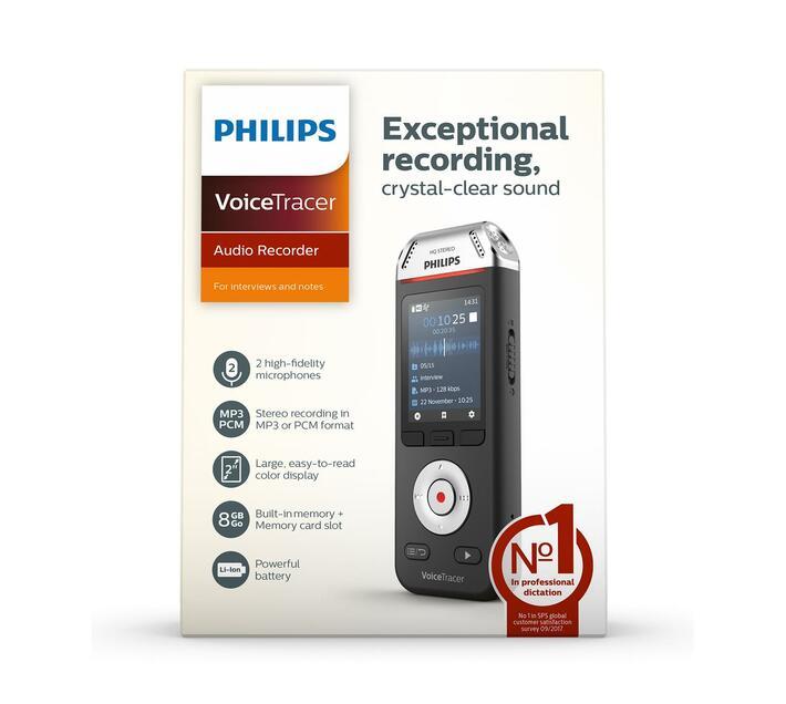 DVT2110 8GB Voice Recorder for conversations