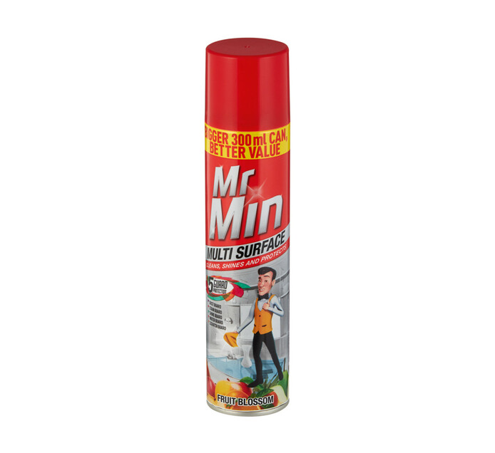 Mr Min Multi-Surface Polish Fruit Blossom (1 x 300ml)