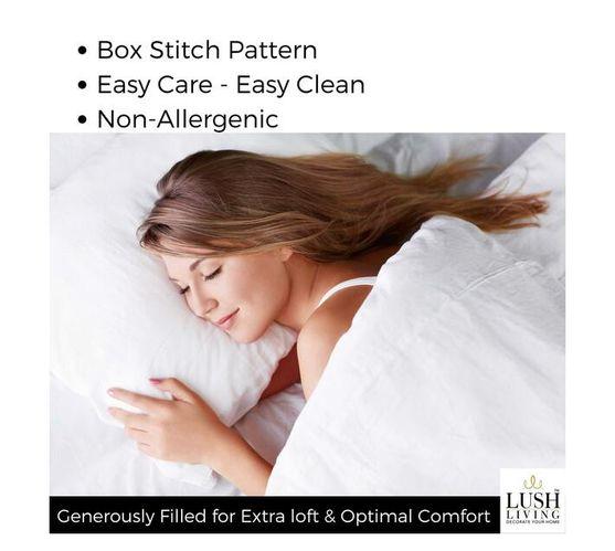 Lush Living - Duvet Inner - Sleep Solutions - Hotel Range - Queen