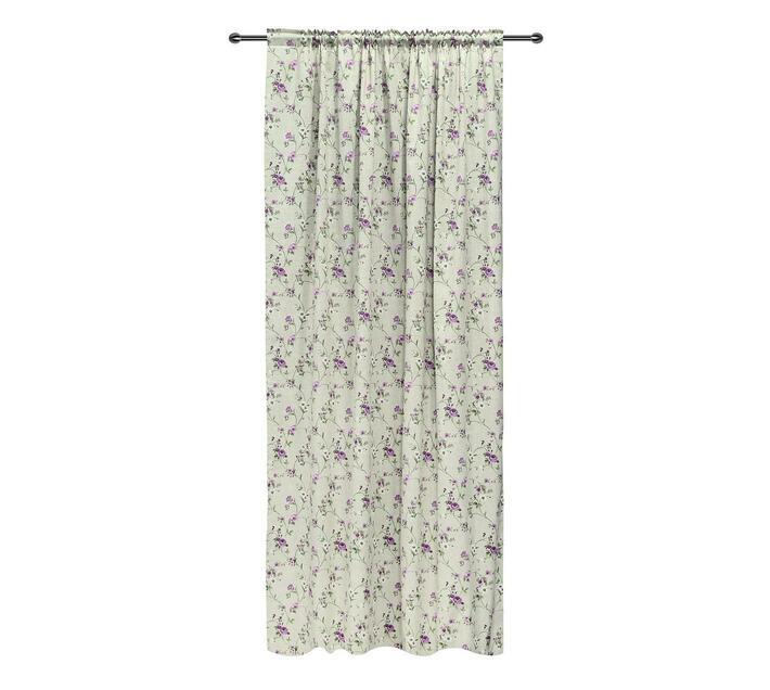 easyhome Rame Kirsch Taped curtain Lilac 140 x 270cm