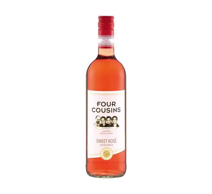 Four Cousins Sweet Rose (1 x 750 ml)