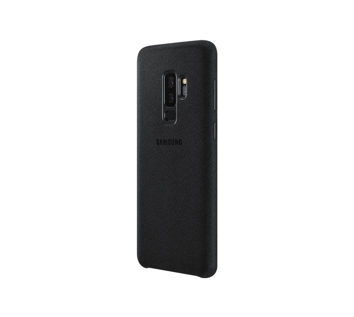 SAMSUNG GALAXY S9 PLUS ALCANTARA COVER BLACK