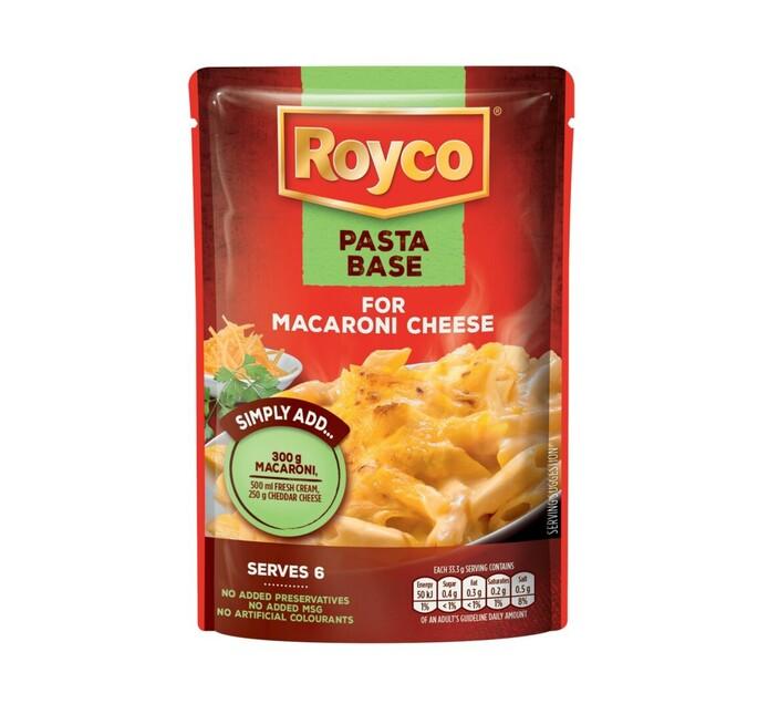 Royco Pasta Base Macaroni and Cheese (1 x 200g)