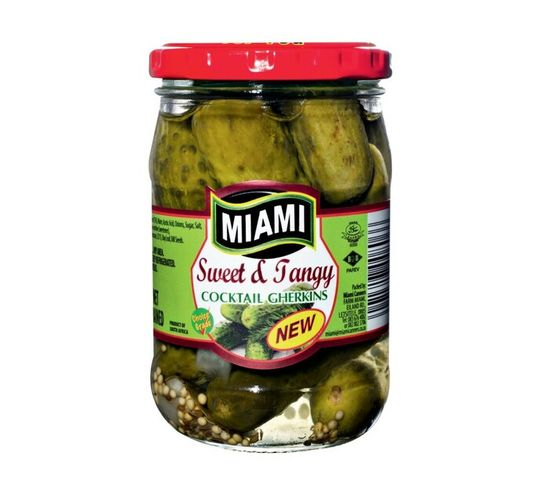 Miami Sweet & Tangy Gherkins (1 x 265g)