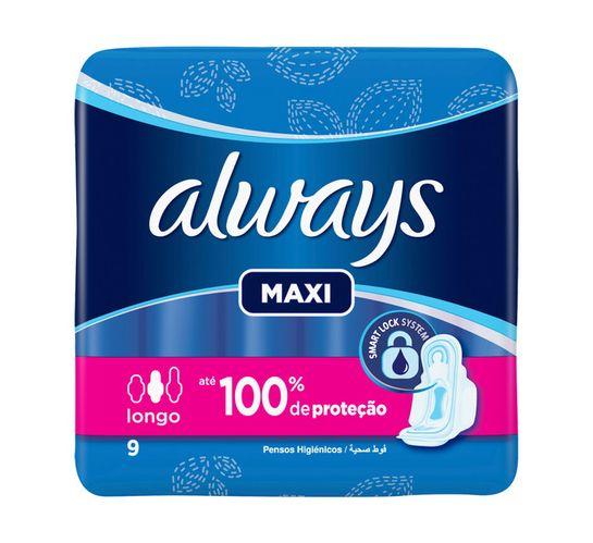 Always Sanitary Pads Maxi Super Plus (4 x 9's)