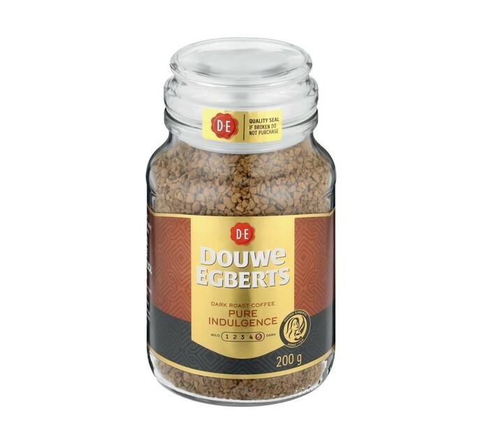Douwe Egberts Instant Coffee Pure Indulgence (6 x 200g)