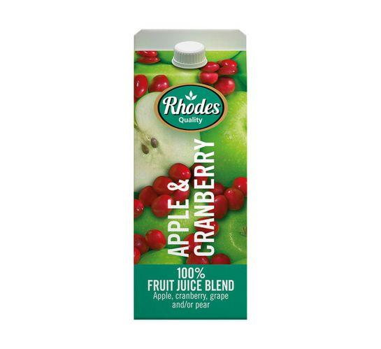 Rhodes 100% Fruit Juice Blend Apple&Berry (6 x 2l)