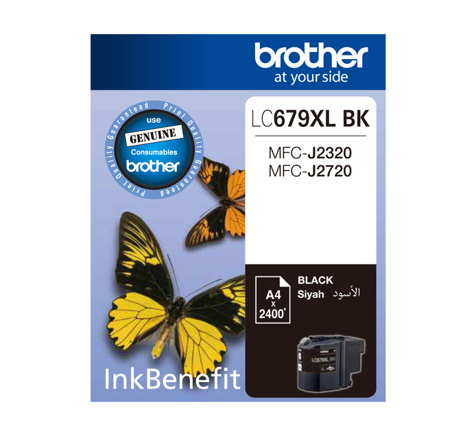 BROTHER 679XL Black Ink Cartridge