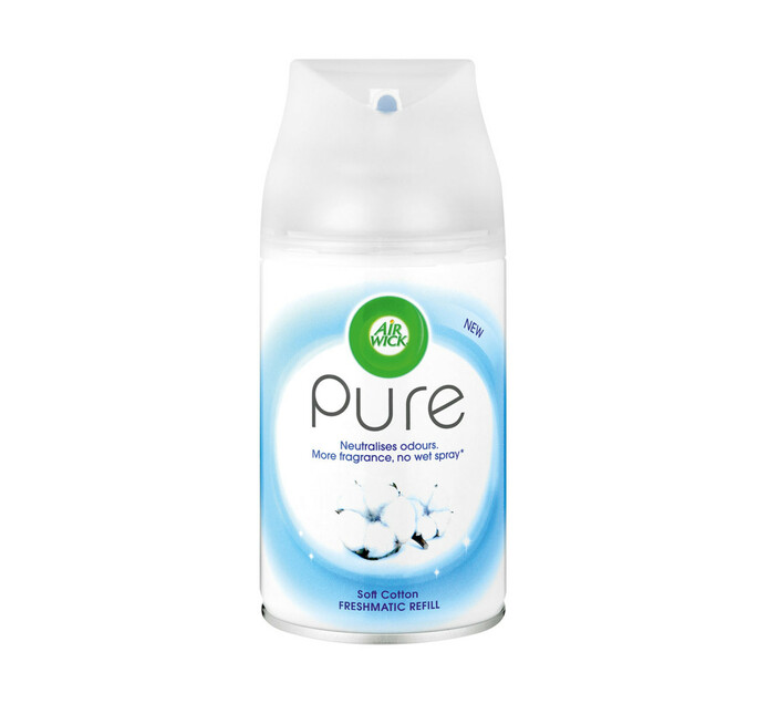 Airwick Pure Air Freshener Refill Soft Cotton (1 x 250ml)