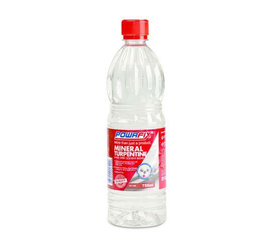 Powafix 750 ml Mineral Turpentine