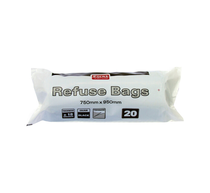 First Value Refuse Bags (20's)