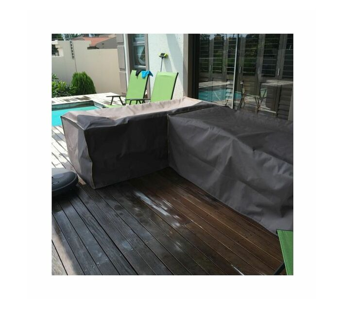 Patio Solution Covers Couch Cover Large - Dove Grey Ripstop UV 260grm