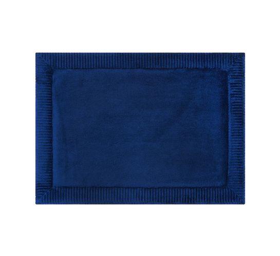 Home Living 43 x 60 cm Verona Memory Foam Mat Blue Admiral
