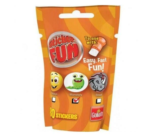 Sticker Fun Refill - Smiley Emoji Theme