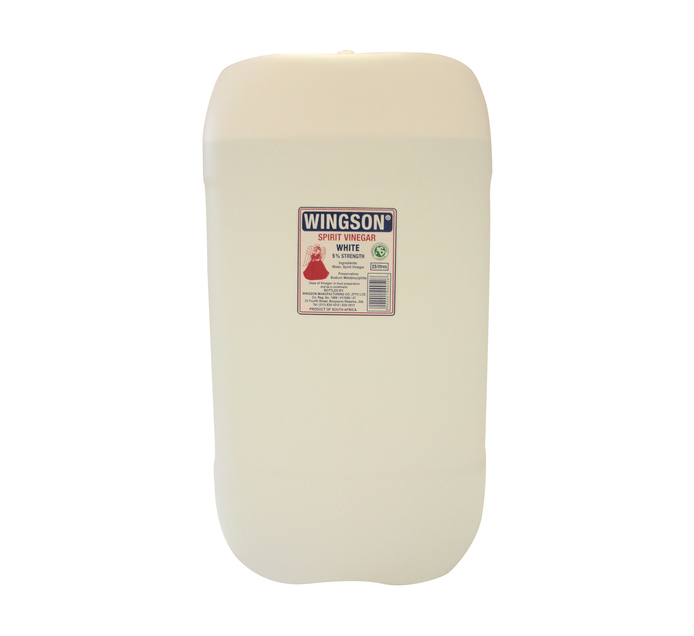 Wingson White Vinegar (1 x 25L)