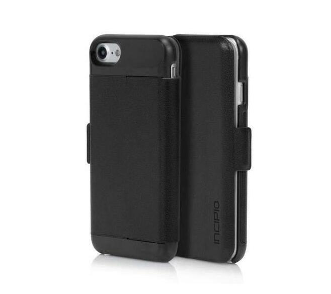 size 40 4a1d7 9e846 Incipio Wallet Folio Case iPhone 7/8 Cover (Black)
