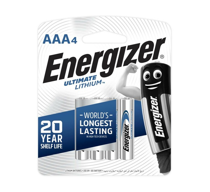 Energizer Lithium AAA 4-Pack