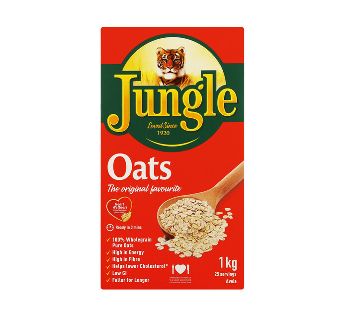 Jungle Oats Regular (1 x 1kg)