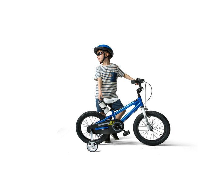 RoyalBaby Kids Bike Boys or Girls Freestyle BMX Bike 16 Inch Blue