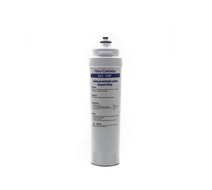 """Definitive Water Easy-Twist GAC Filter with Cap - 1/4"""" Port (Food Service Model)"""