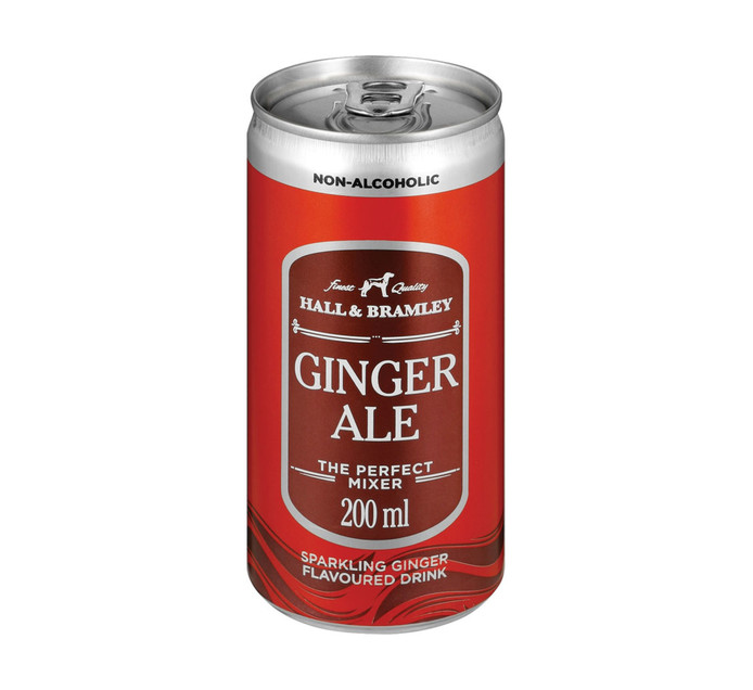Hall & Bramley Ginger Ale (24 x 200ml)