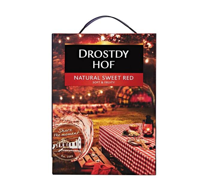 Drostdy Hof Natural Sweet Red (1 x 3L)