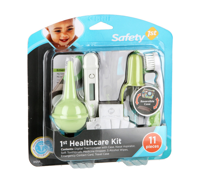 SAFETY FIRST 11pce Healthcare Kit