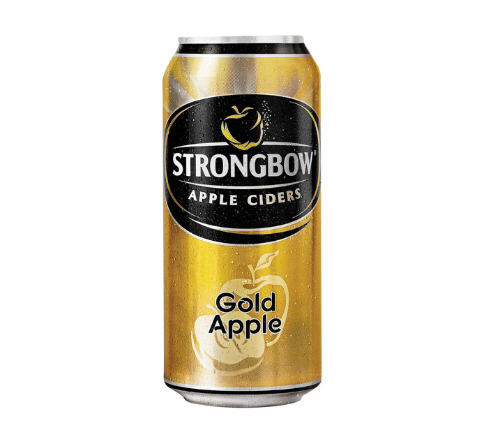 Strongbow Gold Cans (24 x 440 ml)