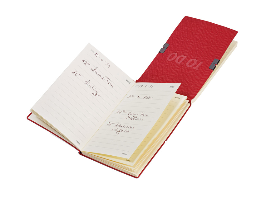 Troika Notepads DIN A6 with Back-to-Back Notes & To Do