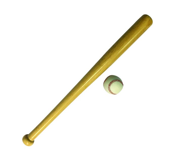 Shoot Wooden Baseball Bat and Ball