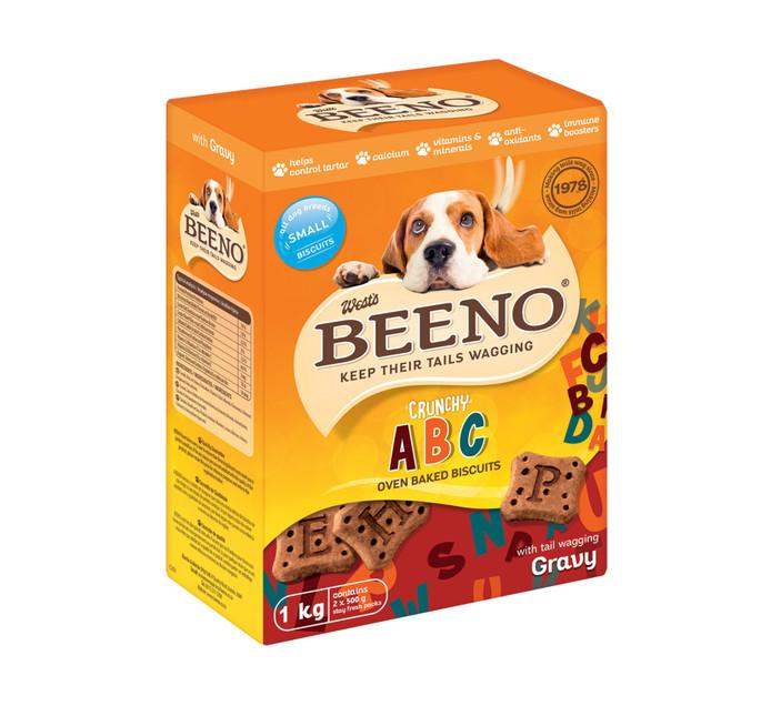 Beeno Dog Biscuits Gravy Small (1 x 1kg)
