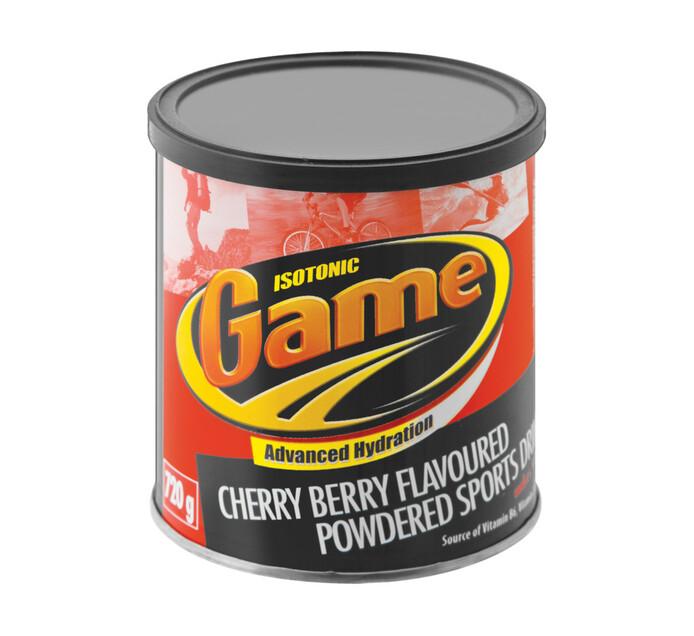 Game Powdered Sports Drink Cherry Berry (1 x 720g)