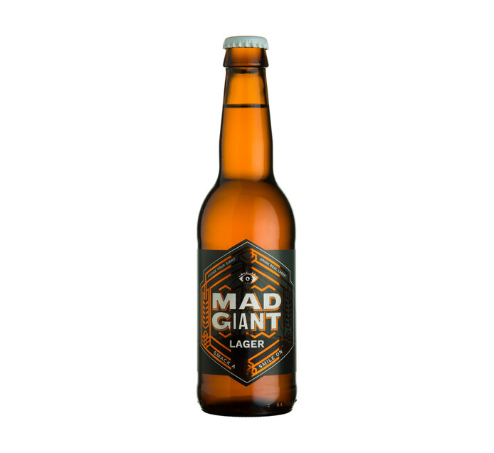 Mad Giant Lager NRB (24 x 340ml)