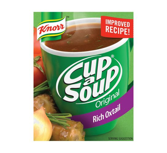 Knorr Cup A Soup Regular Oxtail (4 x 10)