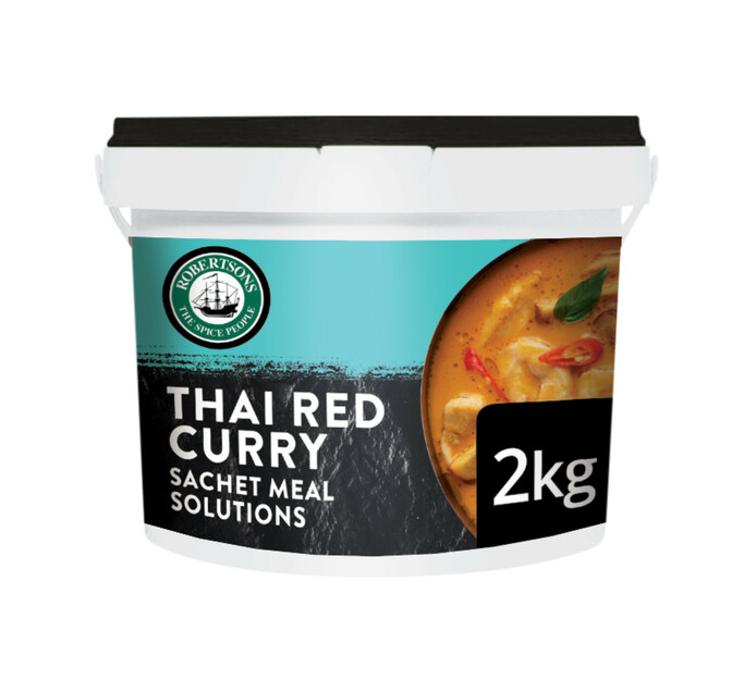 Robertsons Dry Cooking Sauce Thai Red Curry (1 X 2kg)