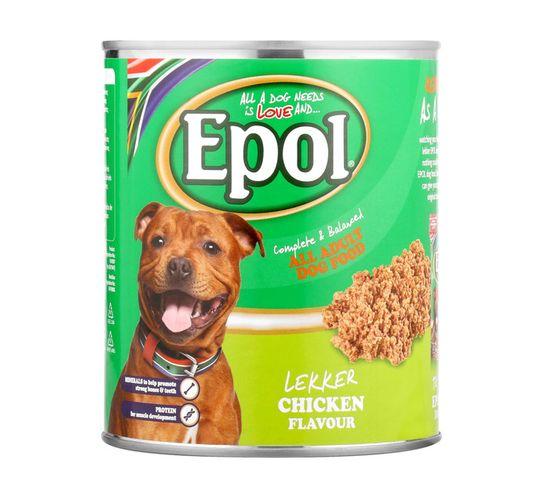 Epol Dog Food Chicken (6 x 820g)