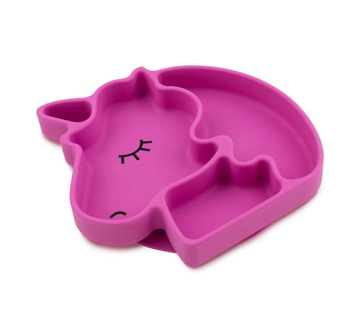 Napps Silicone Suction Plate for Toddlers - Unicorn