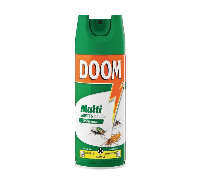 Doom Insect Spray Odourless (6 x 180ml)