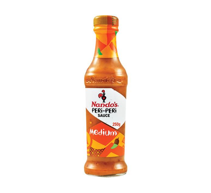 Nandos Sauce Medium Peri Peri (1 x 250ml)