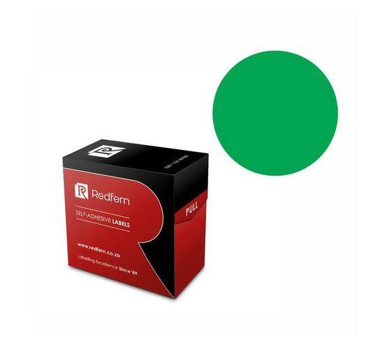 Redfern Self-Adhesive Colour Codes - C32 Green