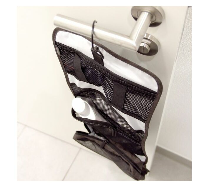 Troika Travel Toiletry Bag with Hanging Hook Business Washbag
